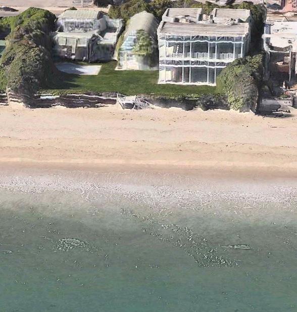 Carbon Beach In Malibu California Is Americas