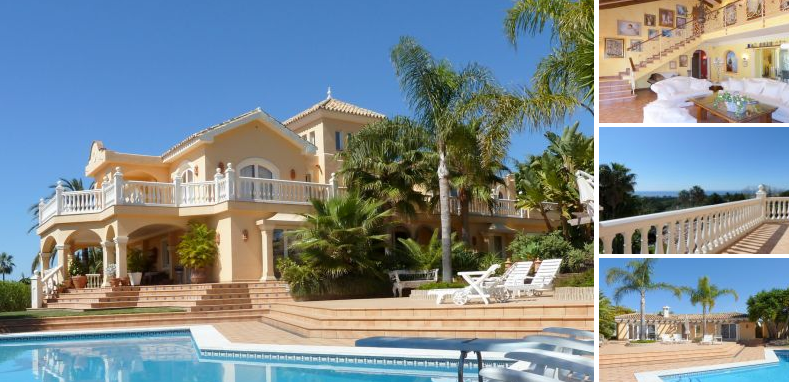 R duit 7 villa chambres marbella en vente avec une des for Des belles villas