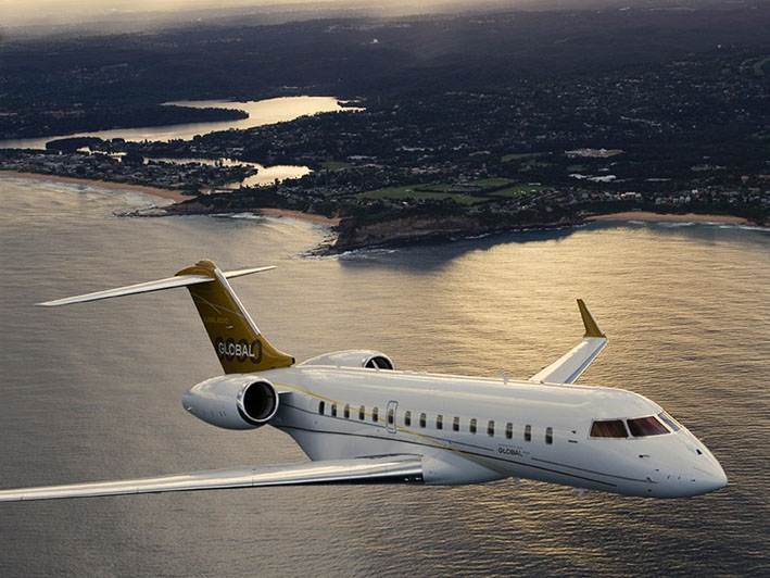 Bombardiers Global 6000 Long Range Private Jet For Sale Delivery 1st Quarter