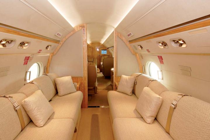Als Nieuwe Gulfstream G 550 Te Koop Zeer Hoge Specs Longe Range Prive Jet Voor KleinHet
