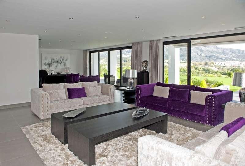 Sehr große neue moderne hochwertige Villa zum Verkauf in Nueva ...