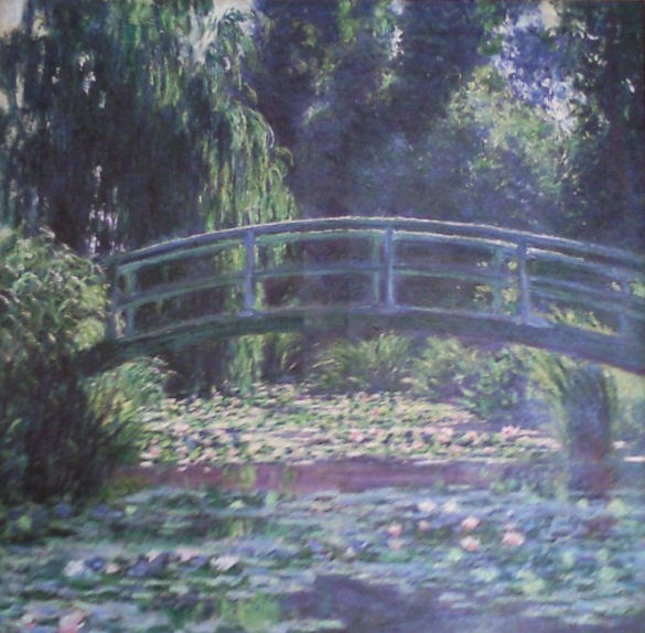 Monet-FootbridgeOvertheWater-LilyPond