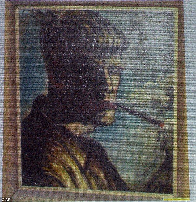 Otto Dix called Selbstportrait Rauchend (Selfportrait Smoking)