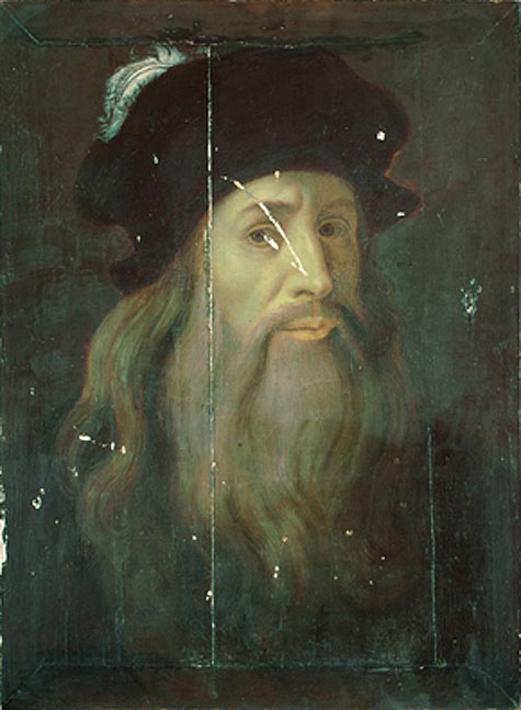 self-portrait-LeonardodaVinci